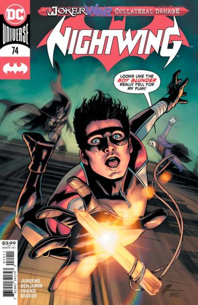Найтвинг Том 4 #74, Nightwing Vol 4 #74 читать скачать комиксы