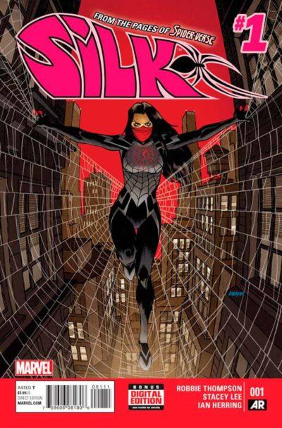 Шёлк Том 1 #1, Silk Vol 1 #1 читать скачать комиксы онлайн