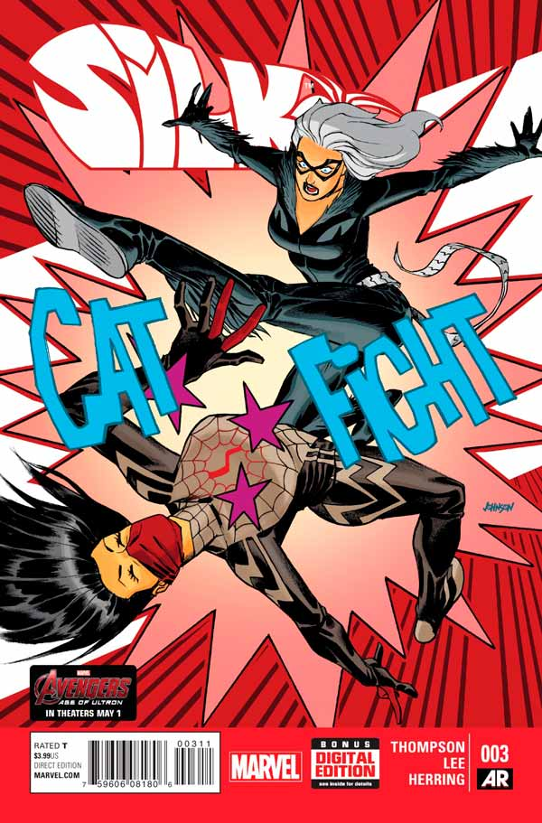 Шёлк Том 1 #3, Silk Vol 1 #3 читать скачать комиксы онлайн