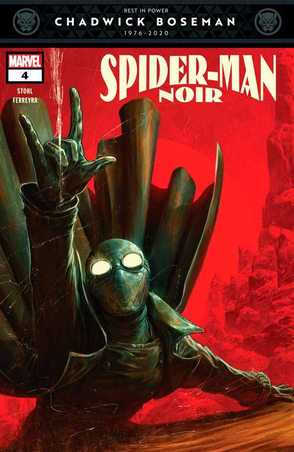 Spider-Man Noir Vol 2 #4, Человек-паук Нуар Том 2 #4