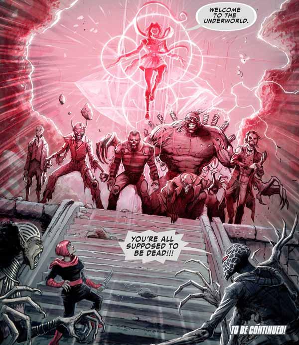 Человек-паук Нуар #4 Том 2, Зловещая Шестерка, Spider-Man Noir #4 Vol 2