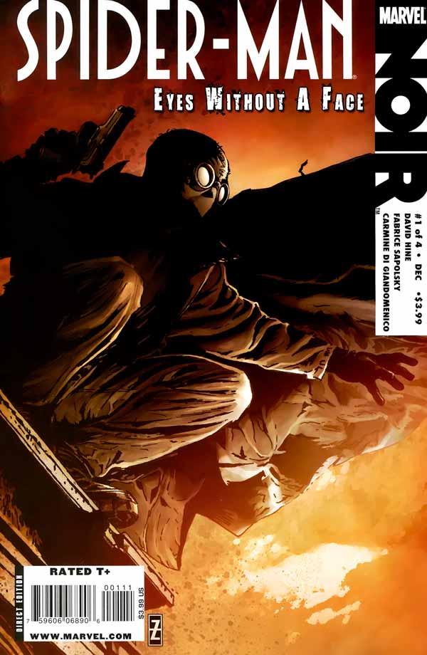 Spider-Man Noir: Eyes Without A Face Vol 1 #1, Человек-Паук Нуар: Глаза Без Лица Том 1 #1 читать скачать комиксы онлайн