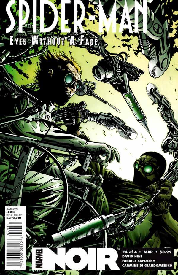 Spider-Man Noir: Eyes Without A Face Vol 1 #4, Человек-Паук Нуар: Глаза Без Лица Том 1 #4 читать скачать комиксы онлайн