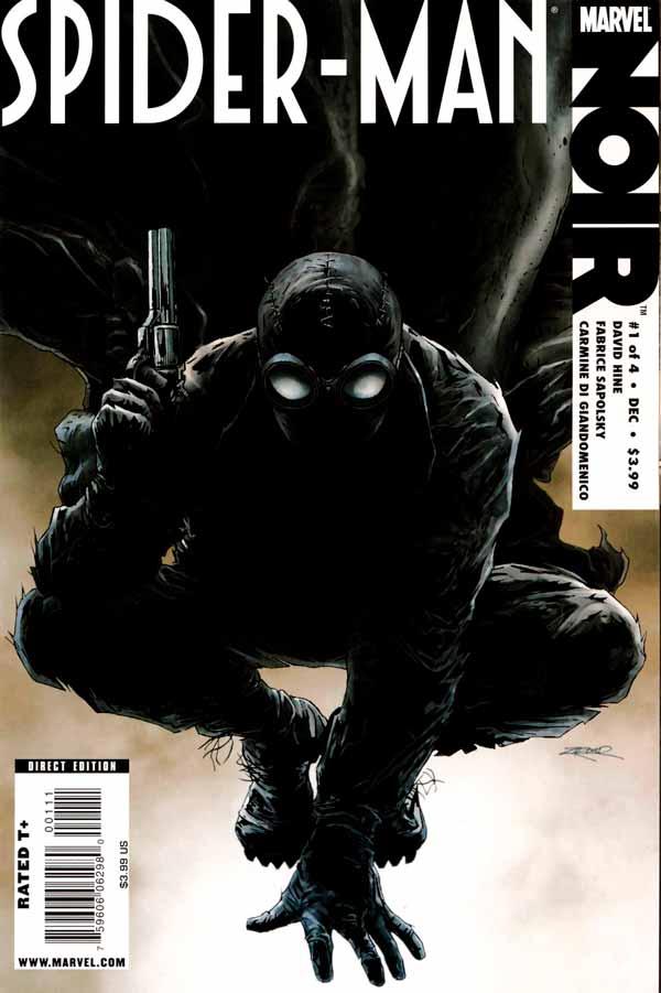 spider man noir Vol 1 #1, Человек-паук Нуар Том 1 #1 читать скачать комиксы онлайн