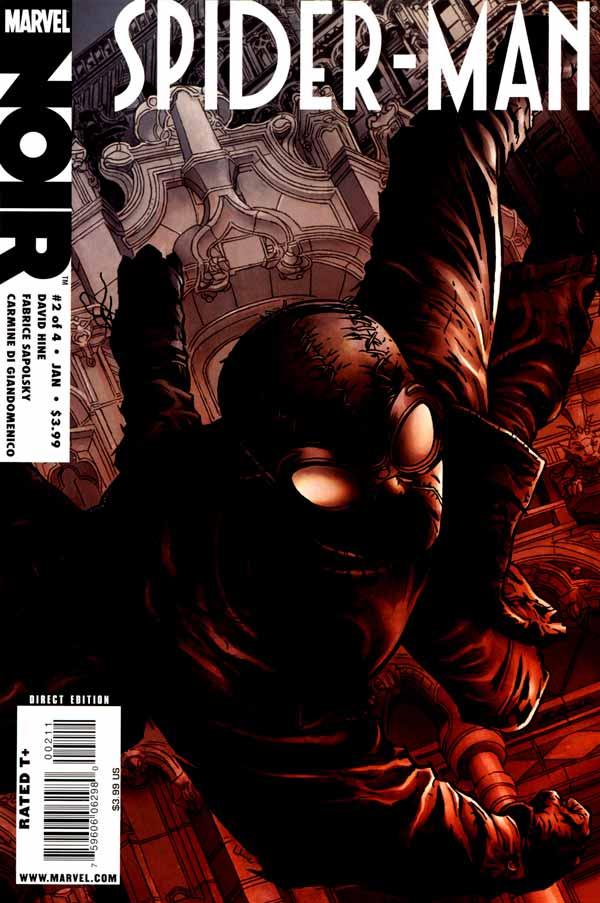 spider man noir Vol 1 #2, Человек-паук Нуар Том 1 #2 читать скачать комиксы онлайн
