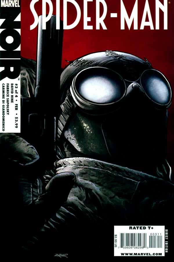 spider man noir Vol 1 #3, Человек-паук Нуар Том 1 #3 читать скачать комиксы онлайн