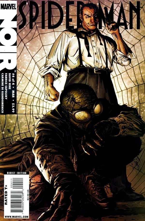 spider man noir Vol 1 #4, Человек-паук Нуар Том 1 #4 читать скачать комиксы онлайн