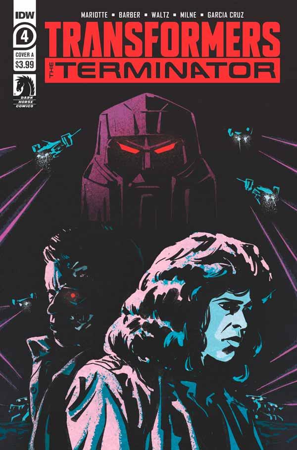 Transformers vs The Terminator #4, Трансформеры против терминатора #4 читать комиксы онлайн