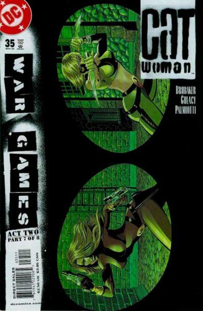 Женщина Кошка Том 3 #35, Catwoman #35 Vol 3, комиксы Женщина кошка