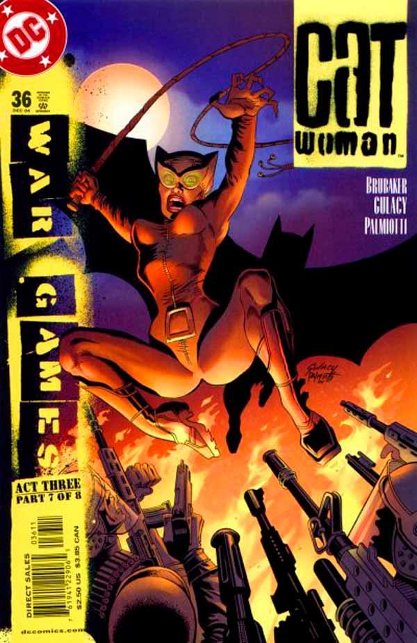 Женщина Кошка Том 3 #36, Catwoman #36 Vol 3, комиксы Женщина кошка