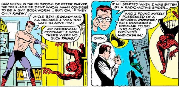 Питер Паркер Человек-Паук, биография персонажа Питера Паркера, Spider-Man