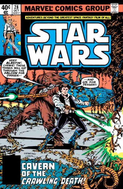 Star Wars #28 (1977) Звездные Войны #28 скачать/читать комиксы онлайн