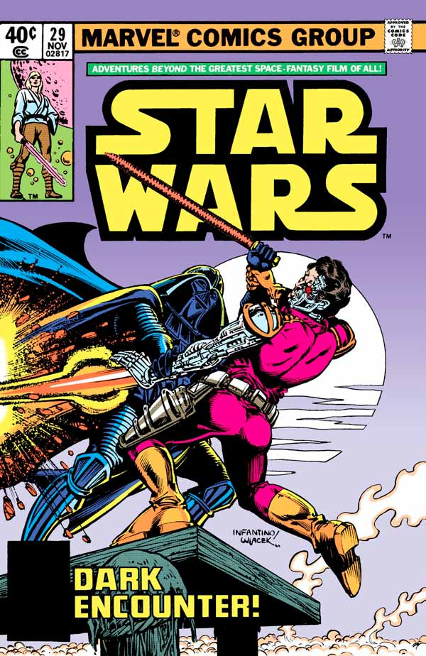 Star Wars #29 (1977) Звездные Войны #29 скачать/читать комиксы онлайн