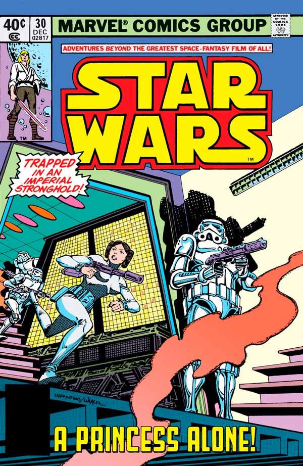 Star Wars #30 (1977) Звездные Войны #30 скачать/читать комиксы онлайн