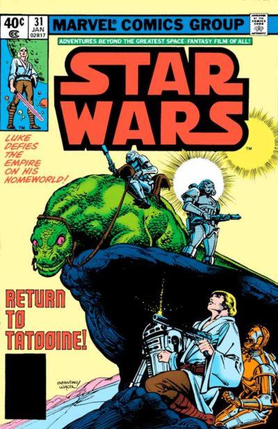 Star Wars #31 (1977) Звездные Войны #31 скачать/читать комиксы онлайн