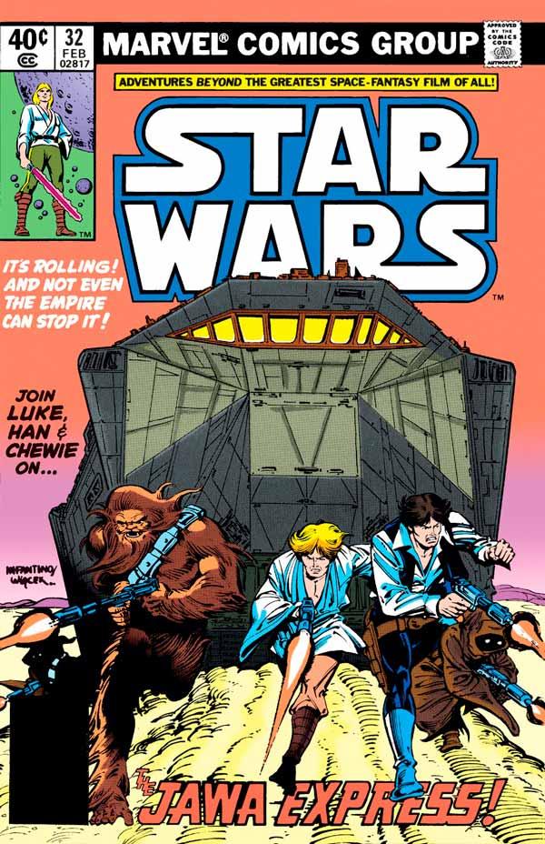 Star Wars #32 (1977) Звездные Войны #32 скачать/читать комиксы онлайн
