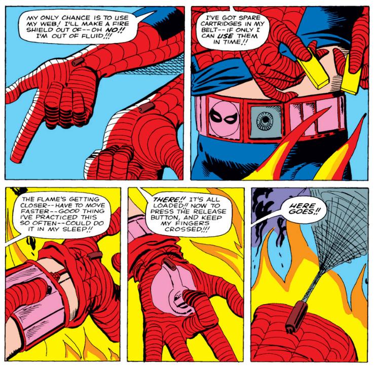 Веб шутеры Человека-Паука, web shooter spider man, оборудование Человека-Паука