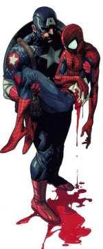 Death of Spider-Man, Капитан Америка и Человек-Паук, Death of Spider-Man, Смерть Человека-Паука