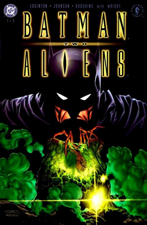 Batman/Aliens II, Бэтмен против Чужих, Чужие против Бэтмена