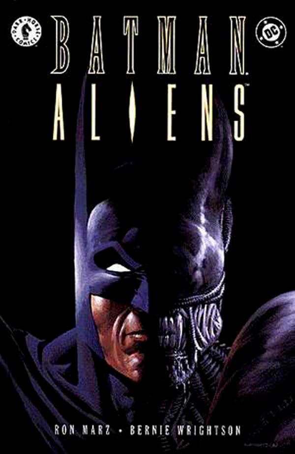 Batman/Aliens 1997, Бэтмен против Чужих, Чужие против Бэтмена