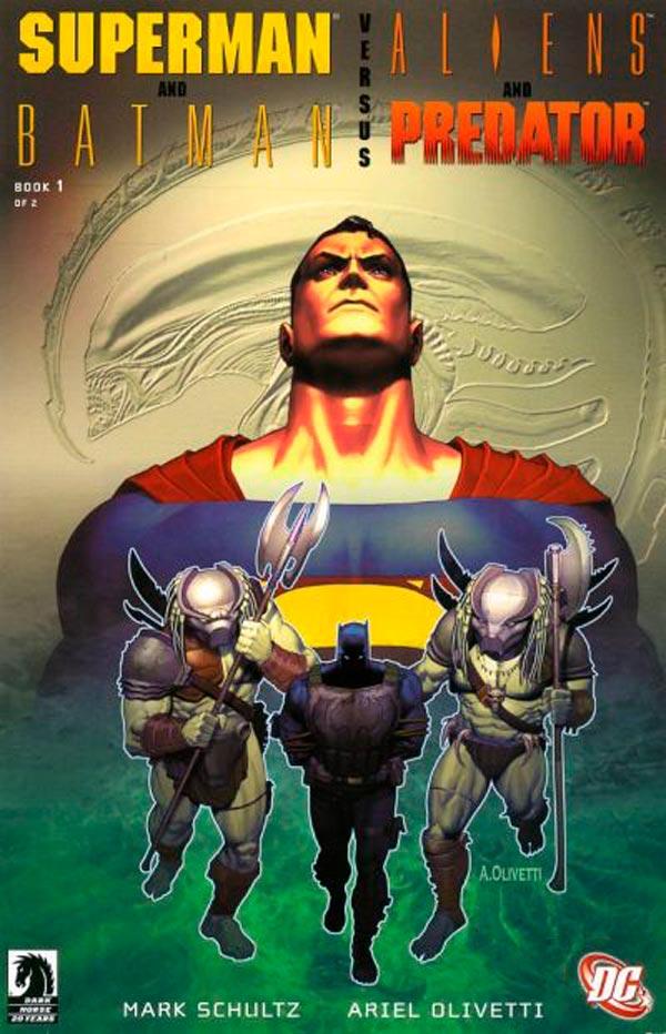 Бэтмен и Супермен против Чужих, Чужие против Бэтмена, Batman And Superman Vs. Aliens And Predator