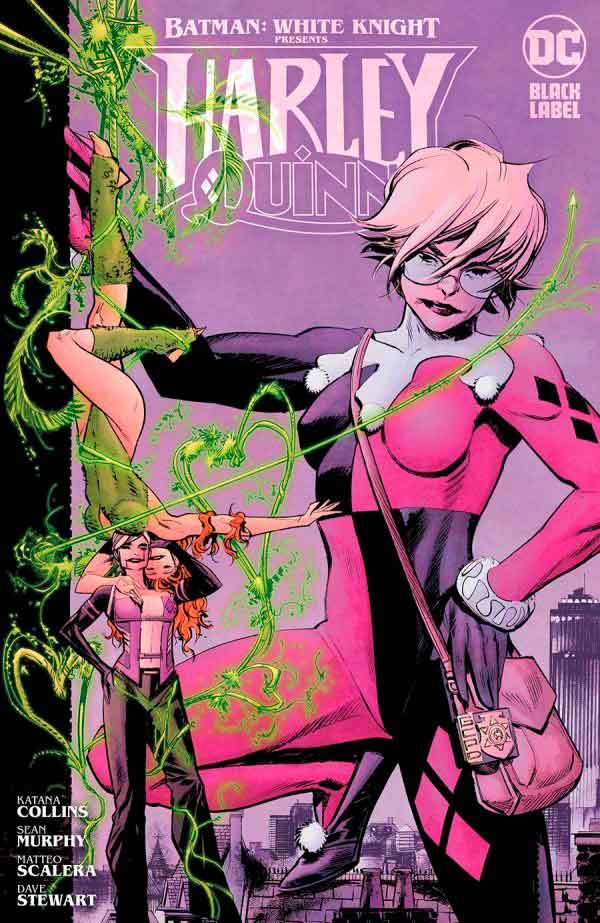 Batman: White Knight Presents: Harley Quinn (2020) обложка комикса, Бэтмен: Белый рыцарь представляет Харли Квинн #2