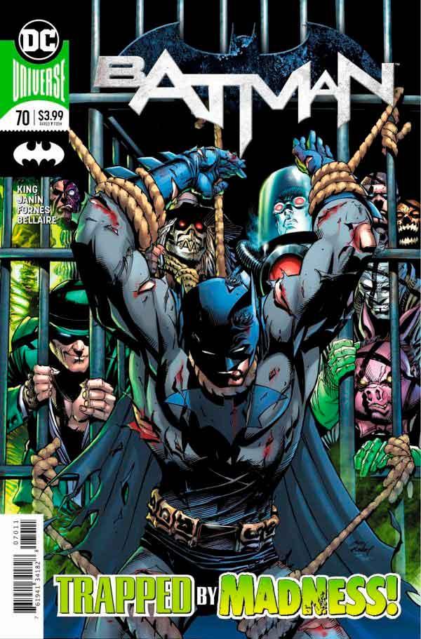 Бэтмен Том 3 #70, Batman Vol 3 #70 читать скачать комиксы онлайн
