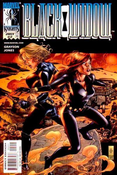 Черная вдова Том 1 #2 (1999), Black Widow Vol 1 #2 1999 читать скачать комиксы онлайн
