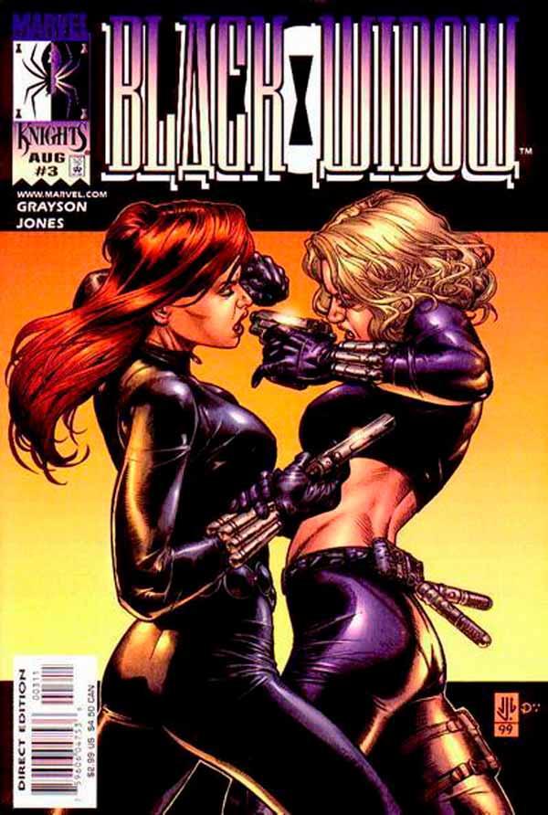 Черная вдова Том 1 #3 (1999), Black Widow Vol 1 #3 1999 читать скачать комиксы онлайн