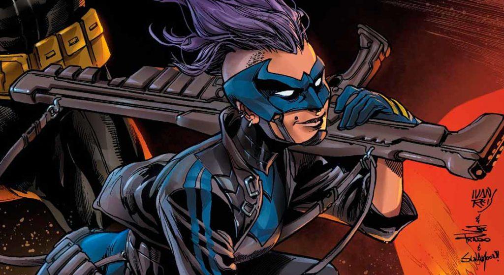 Харпер Роу - Синяя Птица, Bluebird, Batman, DC comics