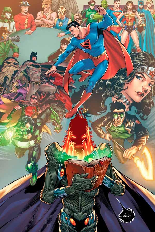 Chronicler DC, Летописец ДС биография персонажа