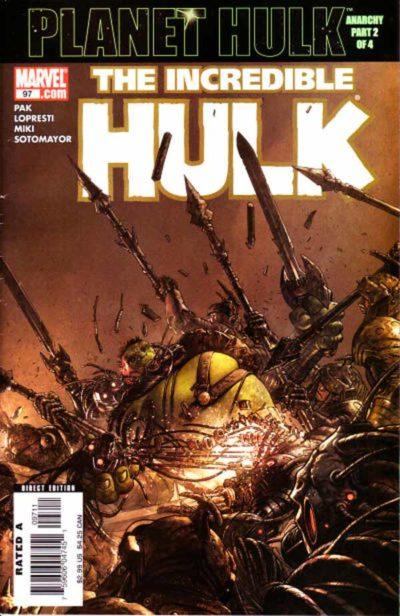 Incredible Hulk Vol 2 #97, Невероятный Халк Том 2 #97 читать скачать комиксы онлайн