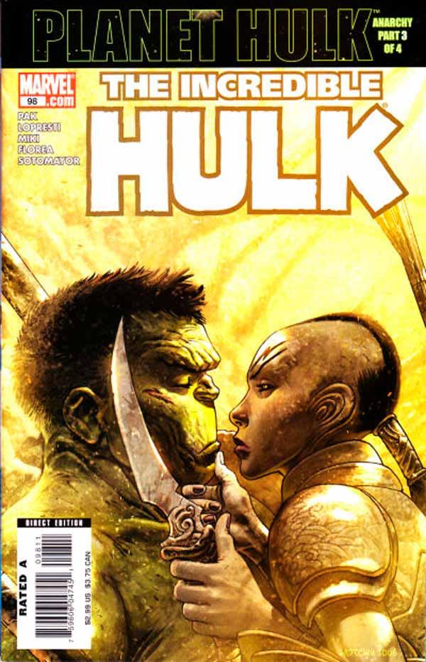 Incredible Hulk Vol 2 #98, Невероятный Халк Том 2 #98 читать скачать комиксы онлайн