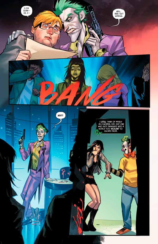 Панчлайн #1 Том 1 комикс, Панчлайн персонаж комиксов, Punchline Vol 1 #1