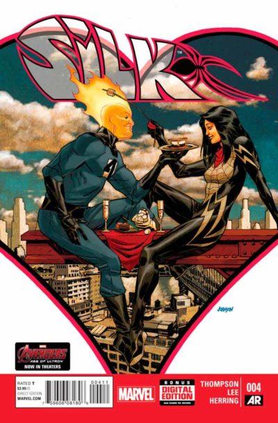 Шёлк Том 1 #4, Silk Vol 1 #4 читать скачать комиксы онлайн