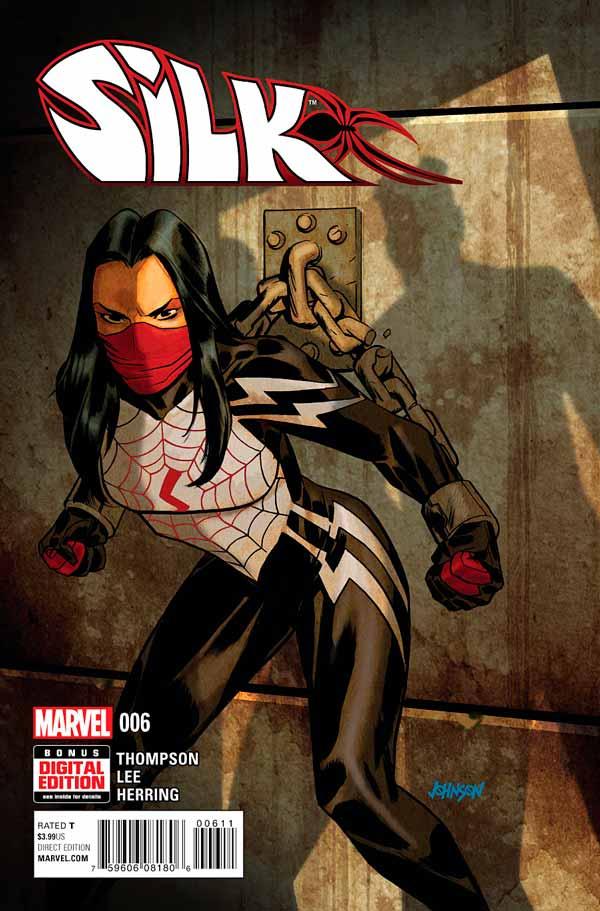 Шёлк Том 1 #6, Silk Vol 1 #6 читать скачать комиксы онлайн