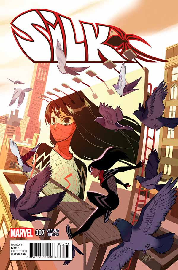 Шёлк Том 1 #7, Silk Vol 1 #7 читать скачать комиксы онлайн