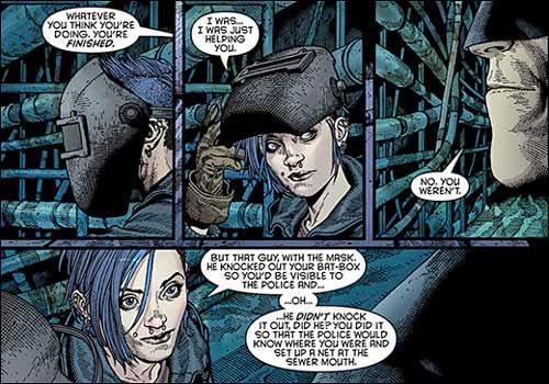 Харпер Роу и Бэтмен, Harper Row Batman, комиксы ДС, биография персонажа Харпер Роу Синяя Птица