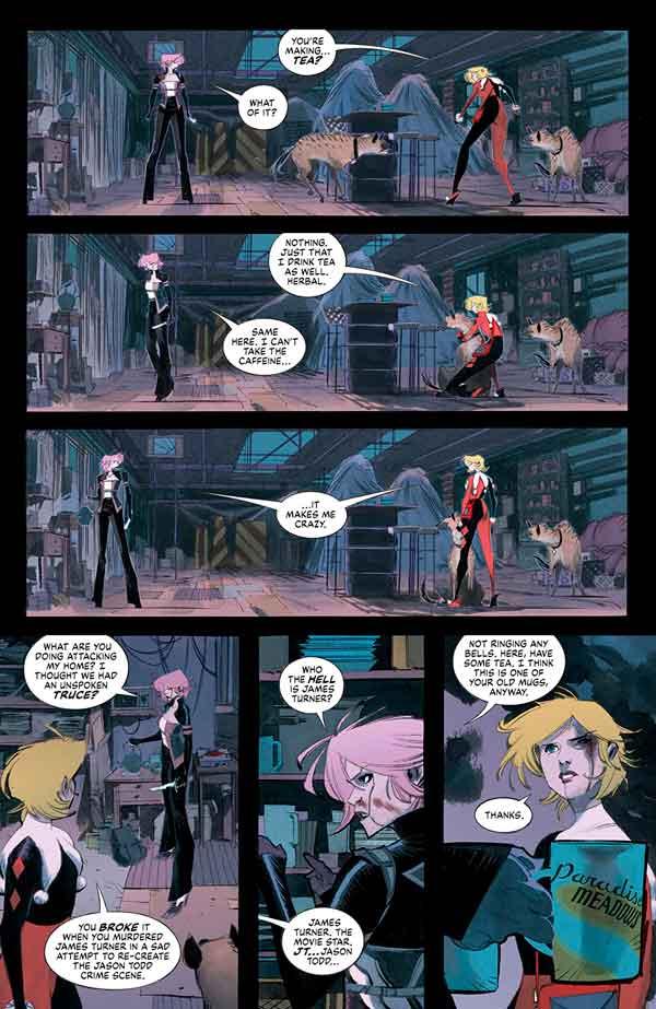 Batman: White Knight Presents: Harley Quinn (2020) обзор комикса, Бэтмен: Белый рыцарь представляет Харли Квинн #2