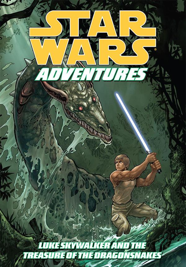 Star Wars Adventures: Luke Skywalker and the Treasure of the Dragonsnakes #1 читать комиксы онлайн, Звездные войны: Приключения: Люк Скайуокер и сокровище Дракона #1 онлайн