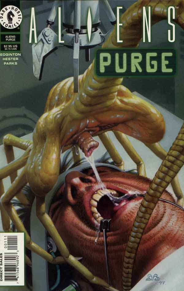 Aliens: Purge #1, Пришельцы: Чистка # 1 читать комиксы онлайн
