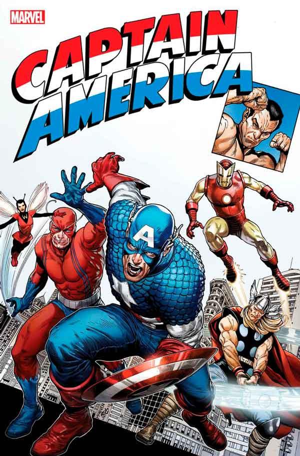 Captain America Anniversary Tribute #1, Трибьют к годовщине Капитана Америки # 1