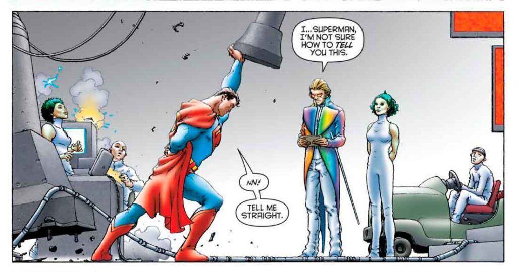 Лео Квинтум и Супермен, комикс Блистательный Супермен, All Star Superman