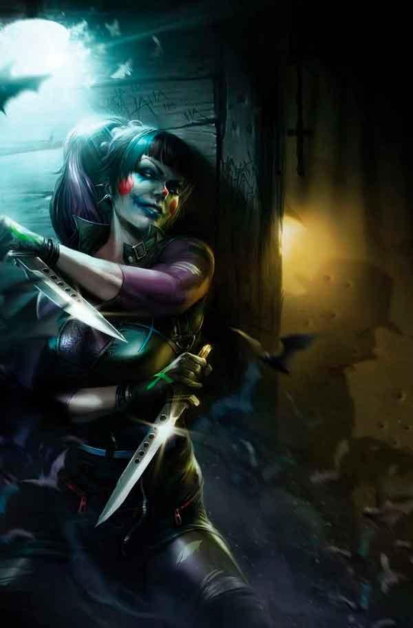 Haunting Joker #1, Призрачный Джокер # 1 комиксы ДС, комиксы про Джокера, Панчлайн, комиксы о Панчлайн