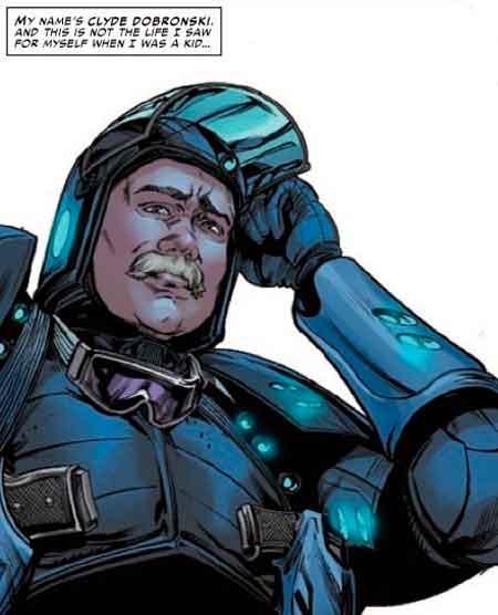Клайд Добронски (Clyde Dobronski), Marvels Snapshots #1