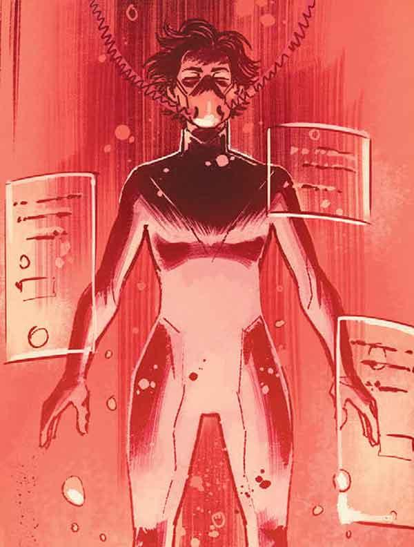 Мать Паника (Mother Panic), Вайлет Пейдж, Violet Paige, биография персонажа комиксов Мать Паника