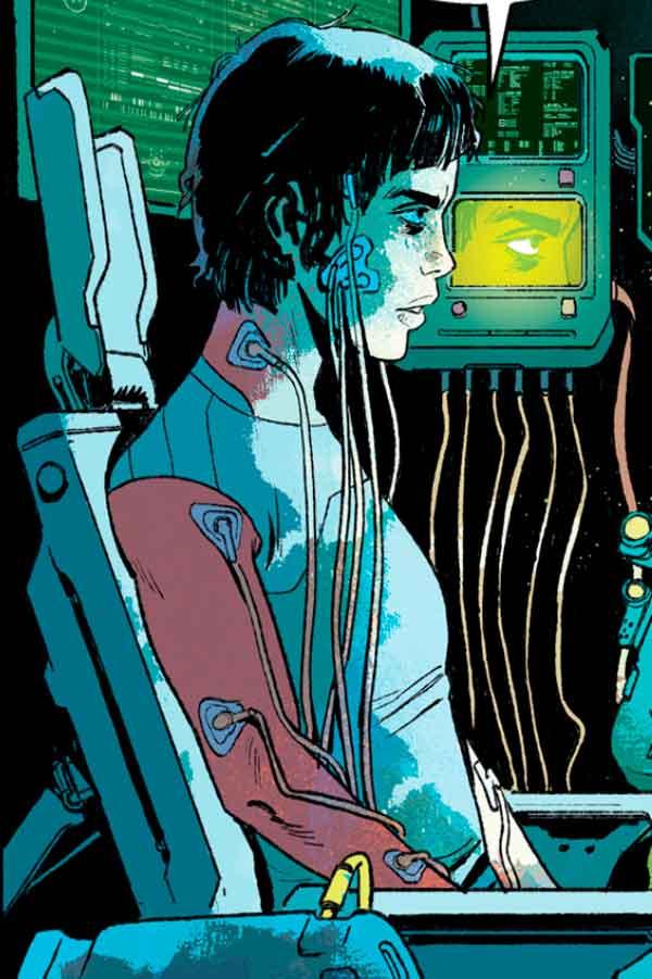Надя персонаж из комиксов Киберпанк 2077, Cyberpunk 2077: Trauma Team комикс, Киберпанк 2077 Отряд «Травма» читать комиксы онлайн