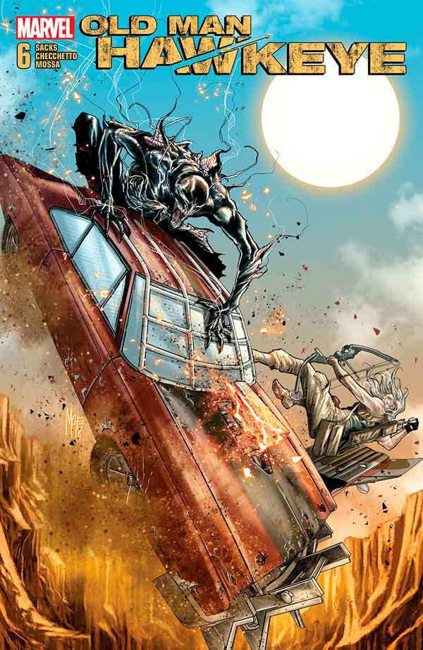 Old Man Hawkeye Vol 1 #6 Старик Хоукай Том 1 #6 скачать читать онлайн