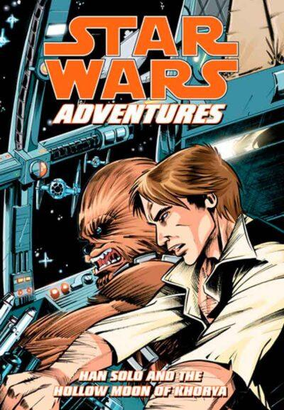 Звездные войны: Приключения: Хан Соло и Полая луна Хории #1 читать комиксы онлайн, Star Wars Adventures: Han Solo and the Hollow Moon of Khorya #1