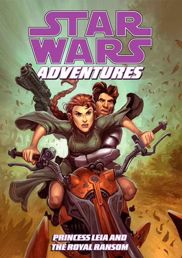 Звездные войны: Приключения: Принцесса Лея и королевский выкуп #1 комиксы онлайн, Star Wars Adventures: Princess Leia and the Royal Ransom #1 читать комиксы онлайн